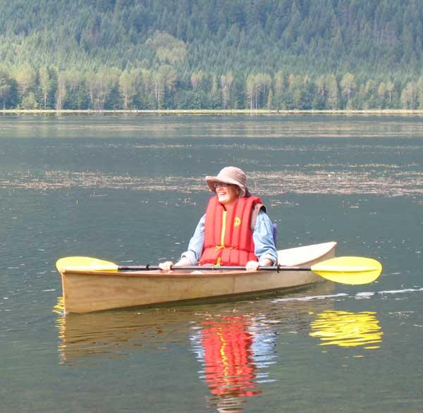 Wee Lassie canoe at Ross Lake
