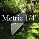 16 foot Guideboat, Metric measure, for 1/4